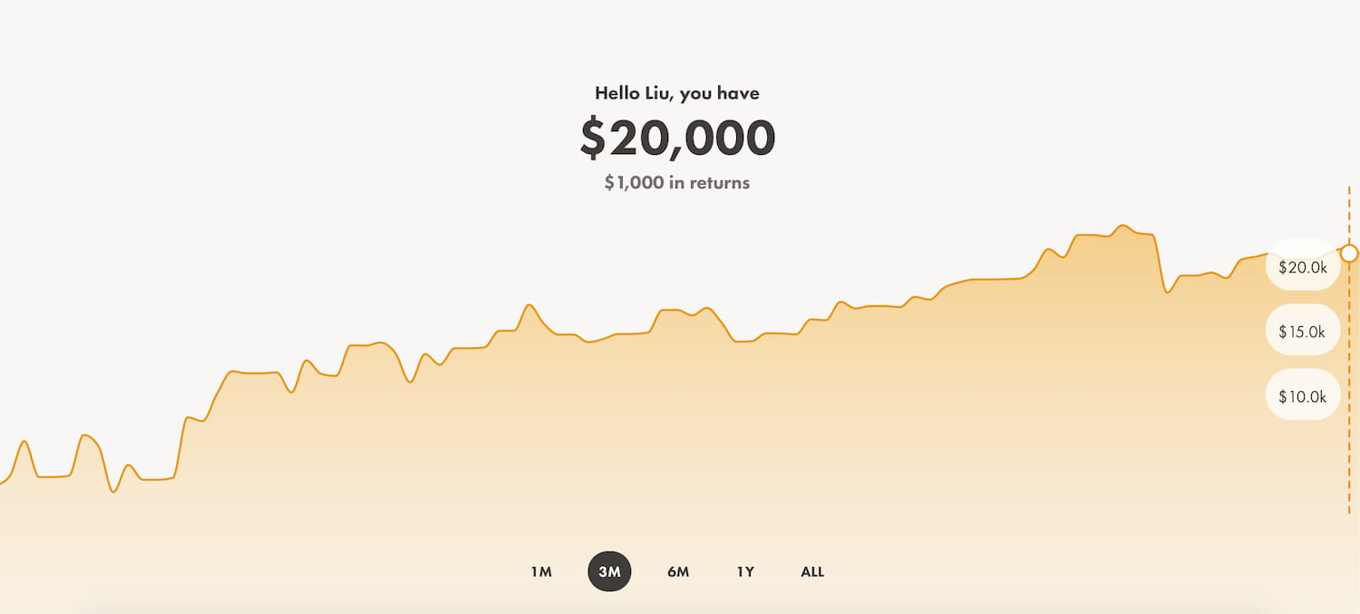 Wealthsimple Invest界面